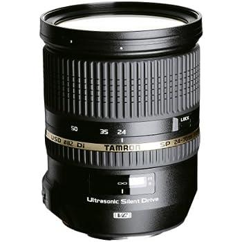 Tamron 24-70mm SP Di VC USD - Objetivo para Nikon (24-70mm, f/2.8, estabilizador óptico, macro, 82 mm), color negro
