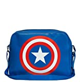 Marvel Comics - Superheld - Captain America Logo Schultertasche - Sporttasche - Umhängetasche -...