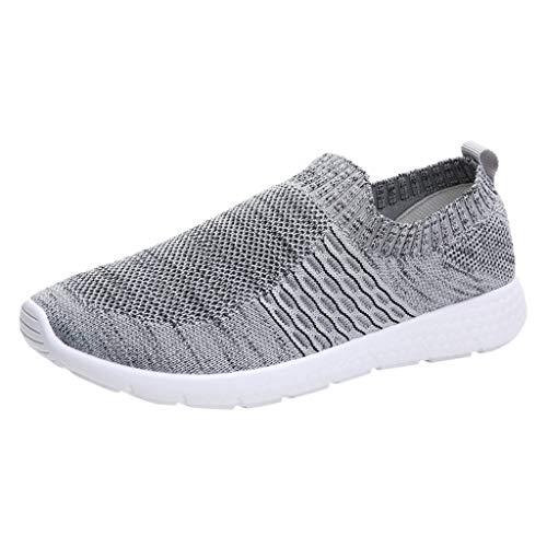 URIBAKY Mode Schuhe Sportschuhe-Runner-Jogging-Walking-Fitnessschuhe Damen,Outdoor Mesh Air Leichte Schuhe,Athletisch Sneaker Frühling Sommer