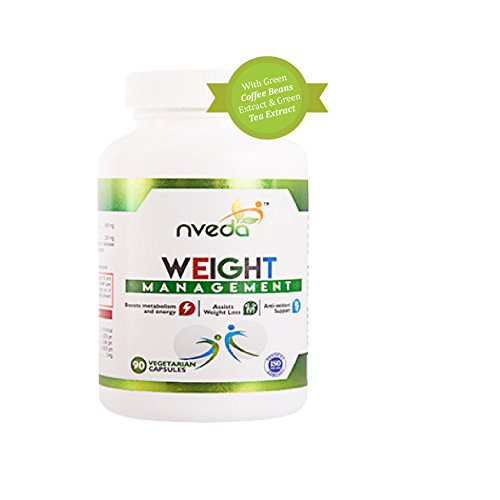 Nveda Weight Management with 300 mg of Green Coffee bean Extract & 100 mg of Green Tea Extract (90 No)