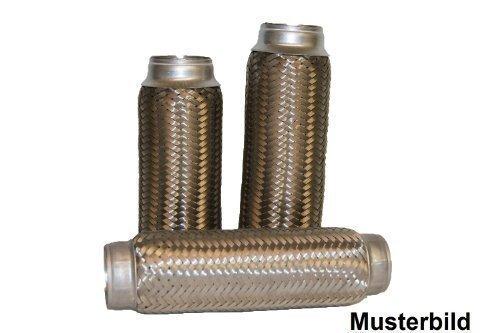 60/x 100/Tube r/éparation pour raccord de tuyau d/échappement /échappement colliers