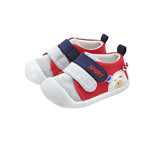 DEBAIJIA Bebé Primeros Pasos Zapatos 1-2 años Niños Zapatos Niños Niñas Infante...