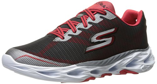 Skechers Performance Mens Go Train Vortex 2 Walking Shoe Charcoal/Red