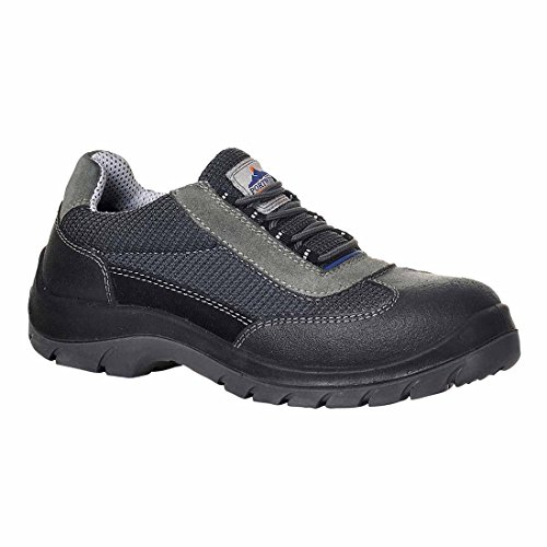 SUW–Steelite Donau Workwear Sicherheit Trainer Schuh S1P, EU 40 - UK 6.5, grau, 1 grau