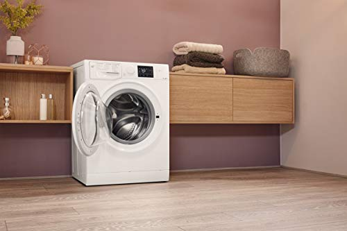Bauknecht WM Pure 7G41 Waschmaschine Frontlader / A+++ -10% / 1400 UpM / 7 kg / Weiß / langlebiger Motor / Nachlegefunktion / Wasserschutz - 12