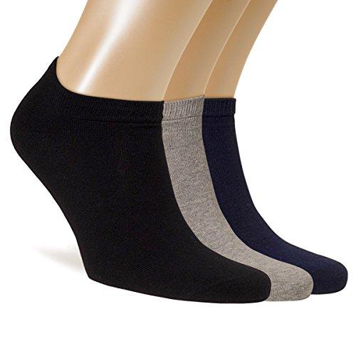 ALL ABOUT SOCKS 5er Pack Sneaker Socken Herren 47-50 bunt | 47 kurze Socken 48 kurze Sneakersocken 49 Bunte Füßlinge 50