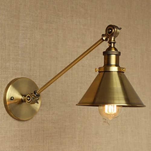 BYDXZ / Applique Murale en Laiton Applique Murale Suspension Plafonnier Métallique E27 Cap pour Chambre à Coucher Chambre d'enfant Loft Barn Kitchen Type 2
