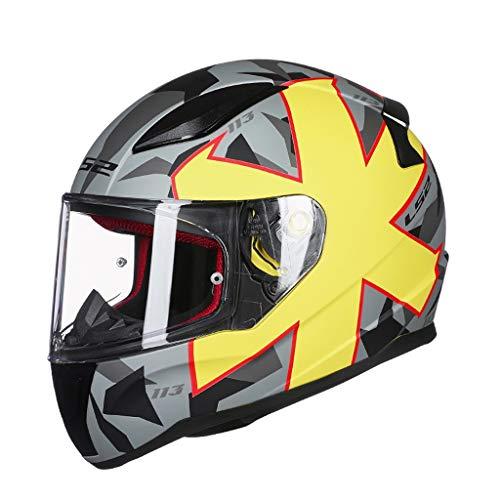 Preisvergleich Produktbild Lsrryd Helmet Motorrad-Helm Integral-Helm Cruiser Scooter-Helm Sport Sturz-Helm Urban Roller-Helm · ECE Zertifiziert · Inkl (Farbe : D,  größe : XL57-58cm)