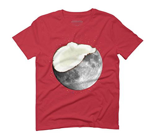 coconuts moon Men's Graphic T-Shirt - Design By Humans Red