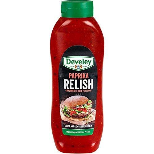 Develey Paprika Relish 1x875ml Flasche Relish
