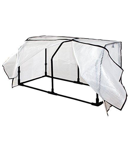 VegTrug swhfpe1150Kleine Hugger Gewächshaus Rahmen und PE Cover–Weiß