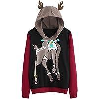 SuperSU Mode Damen Casual Langarm Herbst und Winter Sweatshirt mit Basic Kapuze Pullover Tops Bluse Sweatjacke... preisvergleich bei billige-tabletten.eu