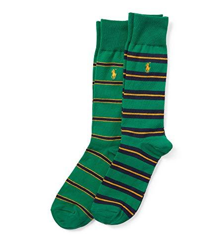 Ralph Lauren - Gestreifte Socken 2er-Pack - Einheitsgröße (39-45) - Grün