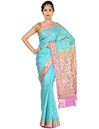 Paheli Silk Saree (Paheli011_Blue)