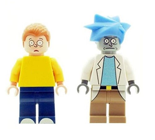 Custom-Designed-Minifigures-Rick-and-Morty-Printed-on-LEGO-parts