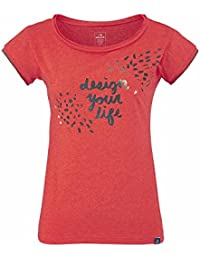 Eider - Tee-shirt Mauna Loa 2.0 Spicy Coral Femme - Femme - Orange