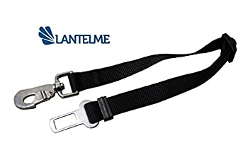 Lantelme Adaptateur 4913 de chien pour la ceinture de sécurité de voiture réglable de 45 à 60 cm