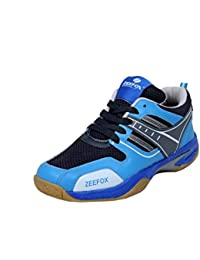 Zeefox Blue Bird Men's Badminton Shoes Blue (FREE DELIVERY)