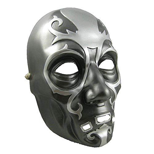 ke Maskerade Prom Maske Halloween Harry Potter Lucius Maskenmaske aus Harz ()
