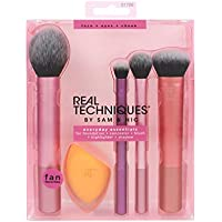 Real Techniques Everyday Essentials - Juego completo de brochas de maquillaje