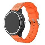 SUPORE Garmin Vivoactive 3 Correa, Correa Reloj Silicona Suave Ajustable