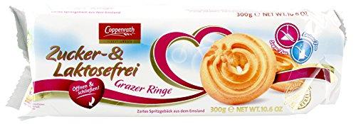 Coppenrath - Grazer Ringe Zucker- & Laktosefrei - 300g - Tee-ring-cookies