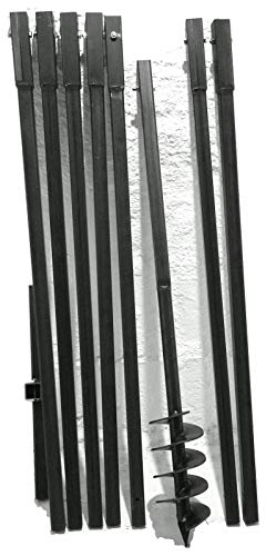 MWS-Apel 120 mm 8 meter Erdbohrer Brunnenbohrer Handerdbohrer Erdlochbohrer Brunnenbau Pfahlbohrer brunnenbohrgerät