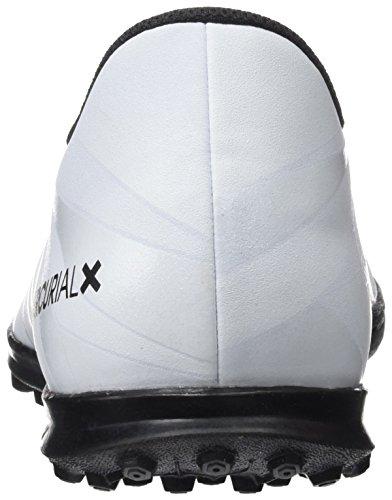 big sale 0795e 73f1a ... Nike Mercurialx Vortex III Cr7 Tf, Scarpe da Calcio Uomo, Nero Bianco  ...