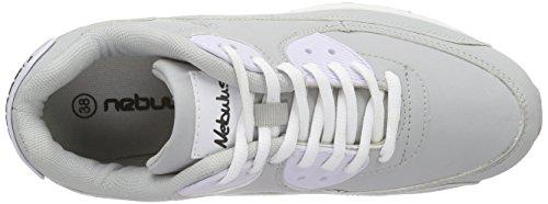 Nebulus Liam, Chaussures de Fitness Femme Multicolore - Mehrfarbig (grey-white)