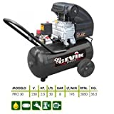 Cevik CA-PRO50 Monoblock-Kompressor, 230V, 2,5PS, 50Liter, 8bar, 205Liter pro Minute
