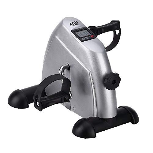 Zogin Mini Bike Pedaltrainer Heimtrainer Bewegungstrainer Arm- und Beintrainer mit LCD-Monitor für Senioren und Junge