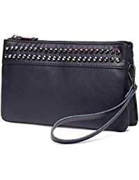 0274d4a0b Vaschy Sac Clutches Bolsos de Mujer Pequeña Bolsos Bandolera Elegante  Crossbody Suave Cuero de PU Bolsos