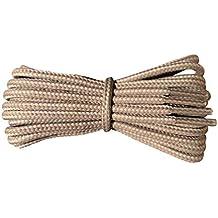 Fabmania Cordones para botas - redondos 4 mm - Elija entre 22 colores - Cordones resistentes