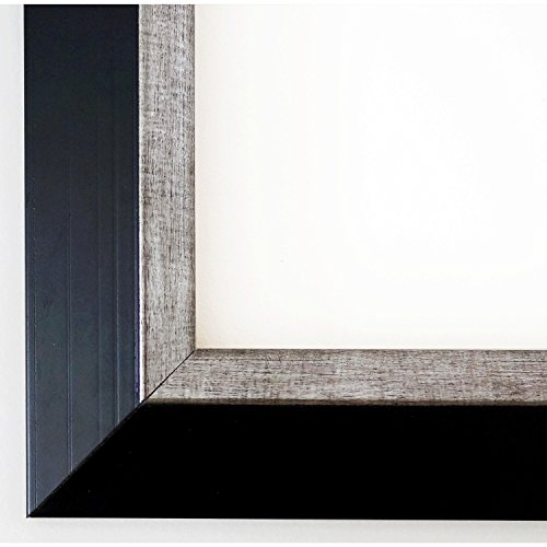 Glas Portrait (Bilderrahmen Schwarz - 30 x 90 cm - Modern, Landhaus, Shabby - Alle Größen - handgefertigt - Galerie-Qualität - LR - Lüneburg 4,6)
