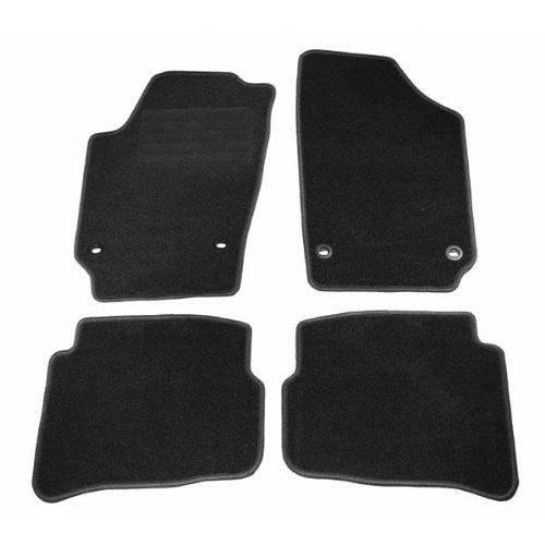 WS-Autoteile Fußmatten Velours 4-teilig