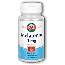 Melatonina 1Mg 120 Tabletas Solaray