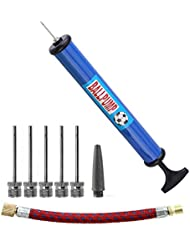 iLoveCos Football Pump With Needles Hand Pump for Soccer Basketball Balloons Football Volleyball Handball Water Polo Toys Rugby Inflatables