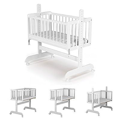 Cuna Colecho Star Ibaby - Adaptable con cama de 40.5 hasta 66 cm de altura.