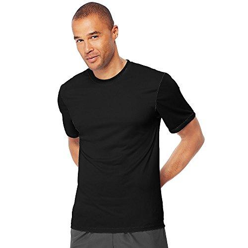 Hanes Mens Cool Dri Performance T-Shirt Black