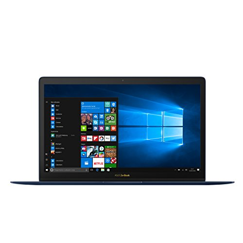 "ASUS UX390UA-GS042T - Ordenador portátil de 12.5"" FullHD (Intel Core i5-7200U, 8 GB de RAM, 256 GB SSD, Intel HD Graphics 620, Windows 10 Original), azul efecto giro - Teclado QWERTY Español"