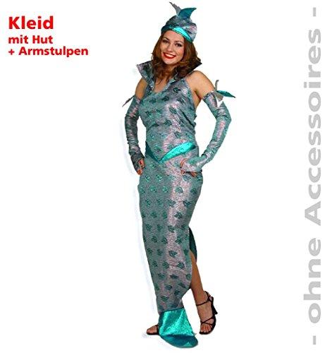 Kostüm Algen - Damenkostüm
