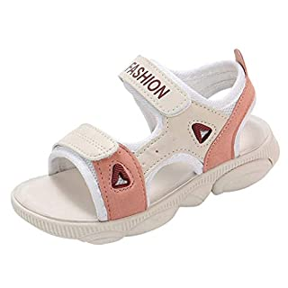 Boys Sandals Open Toe, Toddler Sneakers Kids Baby Girls Boys Sandals Cool Summer Beach Shoes Pink