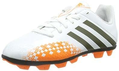 Adidas Performance  Predito Lz Trx Hg J, chaussures de sport - football mixte enfant - Blanc - Weiß (RUNNING WHITE FTW / EARTH GREEN S13 / SOLAR ZEST), EU 38 (UK 5) EU