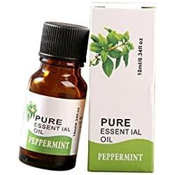 HARRYSTORE 10ml Multi-Effekt Natürliche Anti-Bakterien Ätherische Öle Aromatherapie Duft Hautpflege Ätherische Öle (Minze)