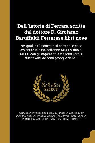 ITA-DELL ISTORIA DI FERRARA SC