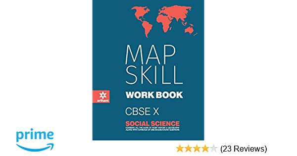 Map Skill Workbook Social Science Class 10th: Amazon in