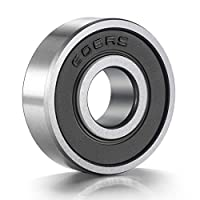 ANCIRS 20-Pack 608-2RS Ball Bearing - 608 2RS Double Rubber Sealed Miniature Deep Groove Ball Bearins for Skateboards, Inline Skates, Scooters (8mm x 22mm x 7mm)
