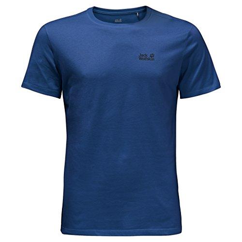 Jack Wolfskin Herren Shirt Essential Function 65 T M tiefseeblau
