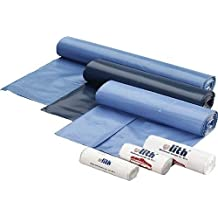 WBV 402902 - Bolsas de basura 700 x 1100 capacidad de 70 l , color azul (250 unidades)