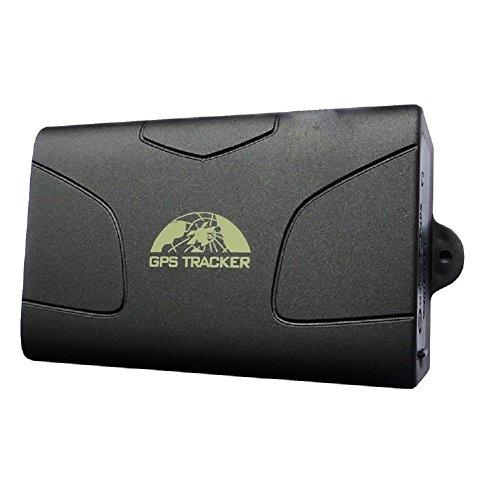 GARY&GHOST GPS Tracker -TK-104 Localizzatore Satellitare Allarme Antifurto per Automobile Vettura Macchina Veicolo Monitoraggio In Tempo Reale per Auto Moto Imbarcazioni Gsm Gprs Track